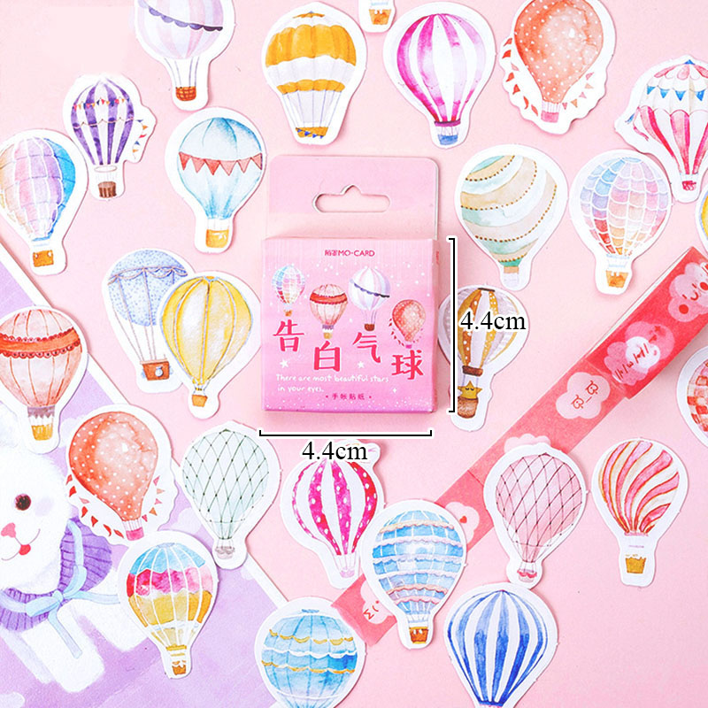 Notebooks & Writing Pads Dashing 46pcs/box Cute Lucky Unicorn Sticky Note Kawaii Butterfly Balloons Memo Pads For Kids Diy Decorative Diary Scrapbooking Supplies Office & School Supplies