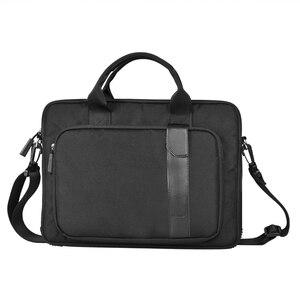 Image 2 - حقيبة كمبيوتر مقاومة للماء من WIWU لأجهزة MacBook Pro 16 A2141 2019 حقيبة كمبيوتر عصرية من النيلون حقيبة كمبيوتر محمول لماك بوك برو 15 حقيبة