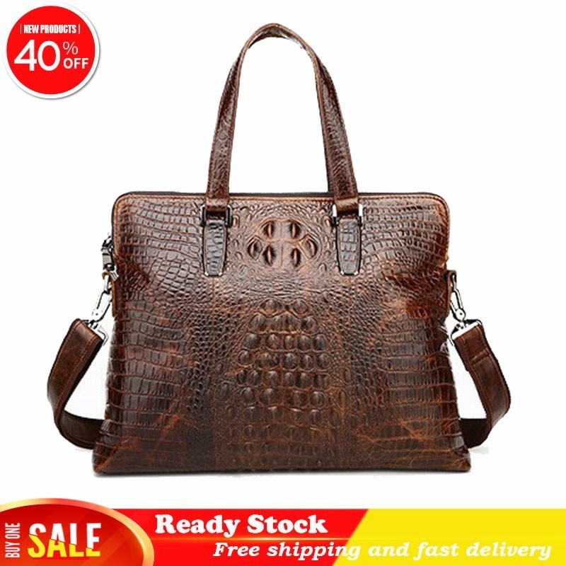 Embossed Man Business Bags For Women Handbag With Brand Crossbody Leather Briefcase Designer Tote Vintage Best Free Shipping