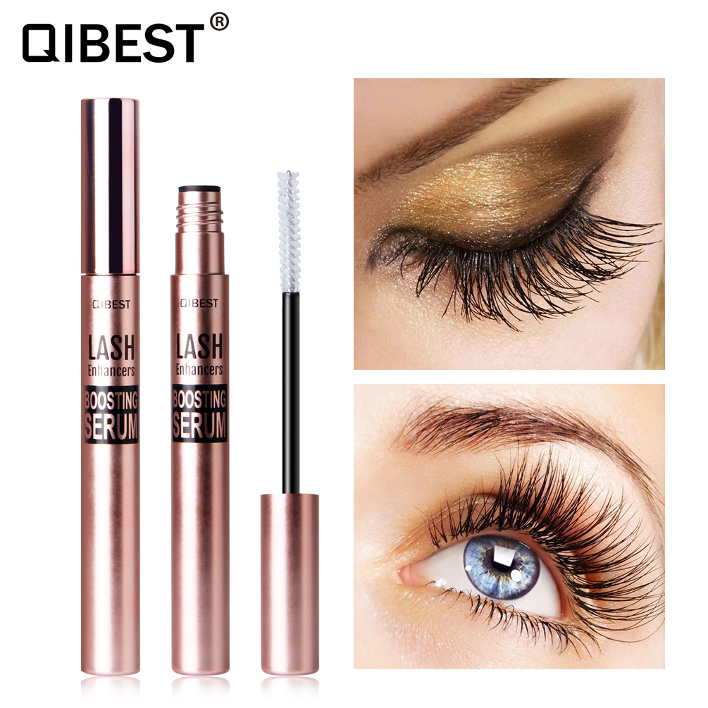 QIBEST Eyelash Growth Treatments Liquid Serum Enhancer Eye Lash Curling Longer Thicker Eyelash Nourishing Essence TSLM2
