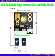 CST 90 SSD90 高ルーメン 60 ワット Led チップ 6500 18k 60 度 Led モジュールを移動するための