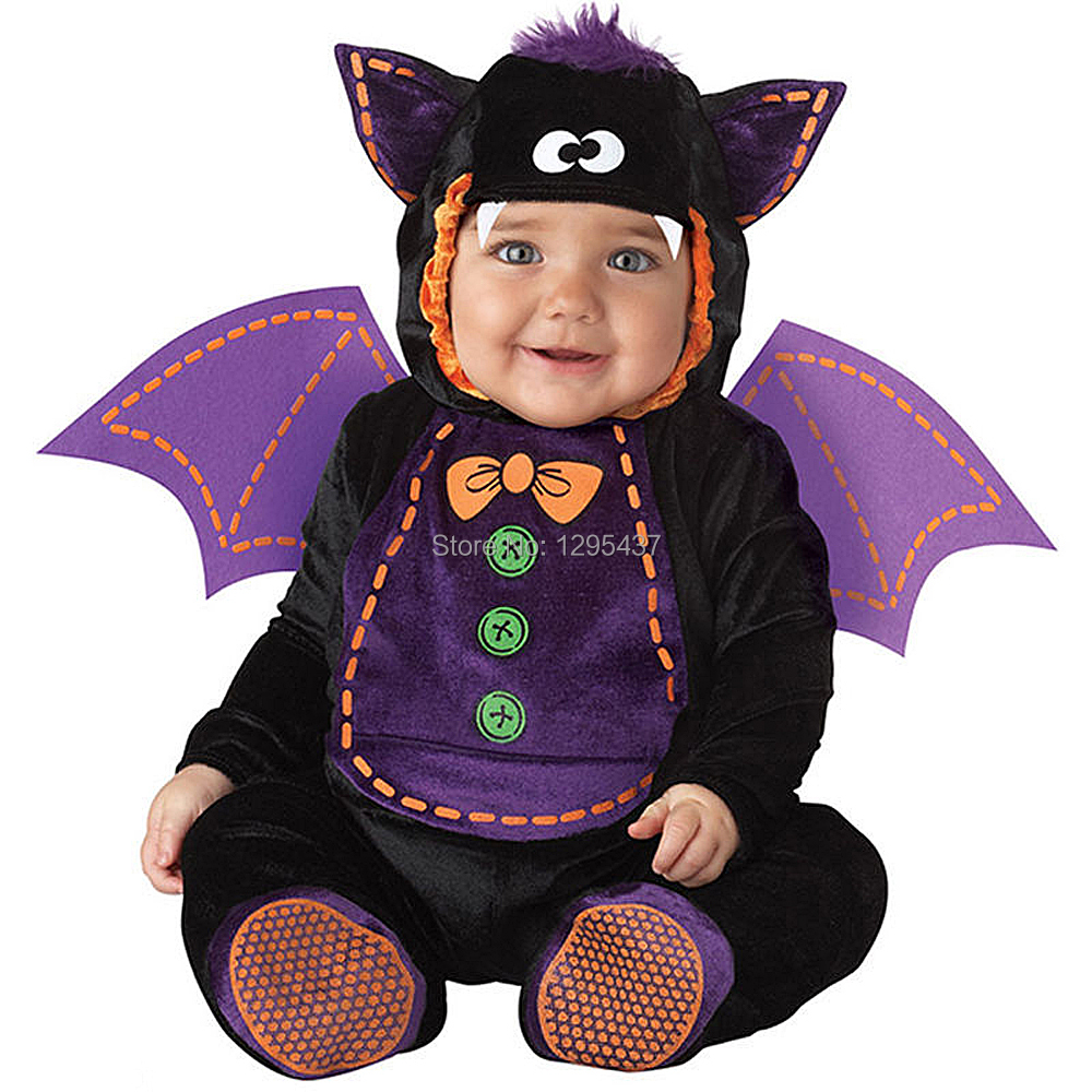 New Infant Toddler Baby Girls Boys Bat With Wings Costume Halloween