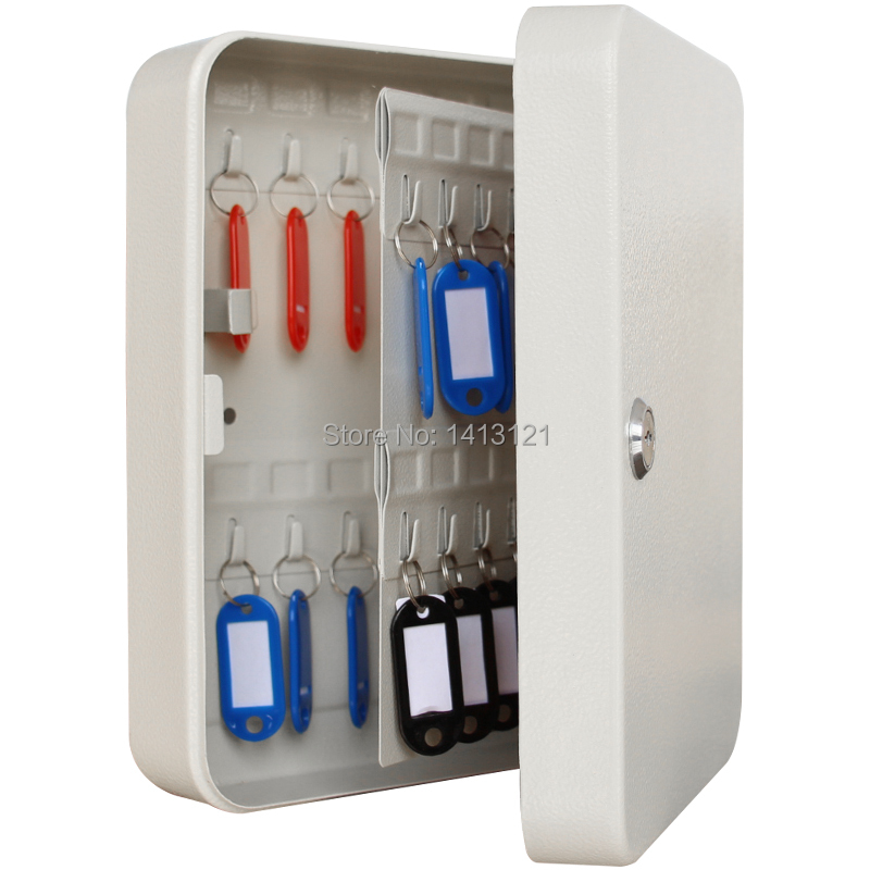metal key box tool case Storage Bins key management box key cabinet with 20key card Office Hotel facility Property storage item
