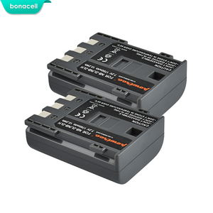 Image 1 - Bonacell 1700mAh NB 2L NB2L NB 2LH NB 2LH NB2LH Digital Camera Battery For Canon Rebel XT XTi 350D 400D G9 G7 S80 S70S30 L50