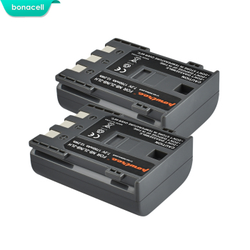 Bonacell 1700mAh NB-2L NB2L NB-2LH NB 2LH NB2LH Digital Camera Battery For Canon Rebel XT XTi 350D 400D G9 G7 S80 S70S30 L50