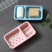 Kitchen Bathroom Soap Box No Punching Dish Sponge Storage Rack Basket Holder Draining Accessories