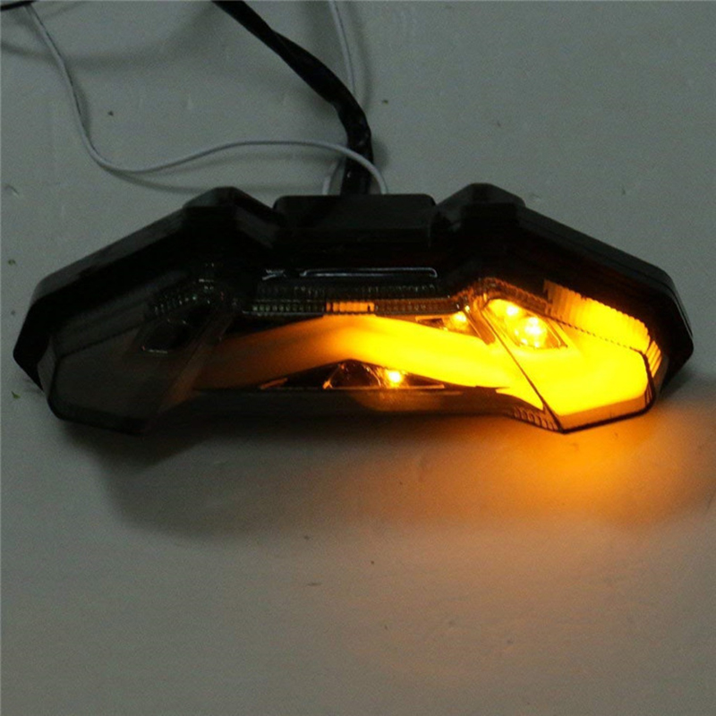 New 1 pc Rear Brake Turn Signal Light Tail LED Turn PVC Red Yellow Taillight MT-09 For Yamaha MT09 FZ09 2014 2015New 1 pc Rear Brake Turn Signal Light Tail LED Turn PVC Red Yellow Taillight MT-09 For Yamaha MT09 FZ09 2014 2015