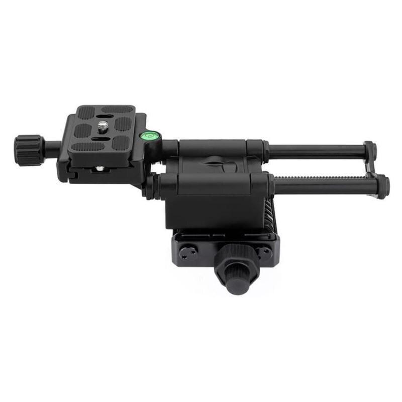 MFR4-5 léger 4 voies Macro mise au point Rail curseur avec pince de fixation rapide 1/4 vis pour Canon Sony Pentax Nikon DSLR appareil photo - 5