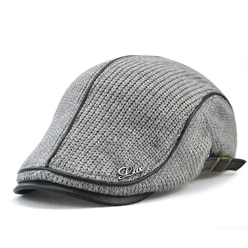 VOBOOM caqui lavado algodón Newsboy Cap 8 Panel Flat Ivy Cap verano luz  telas Gatsby sombrero 75c80e0467a