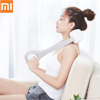 2019 New Xiaomi M1 Mini Neck Back Shoulder Massager Wireless Shiatsu Massage Two Way Kneading With Storage Bag From Youpin