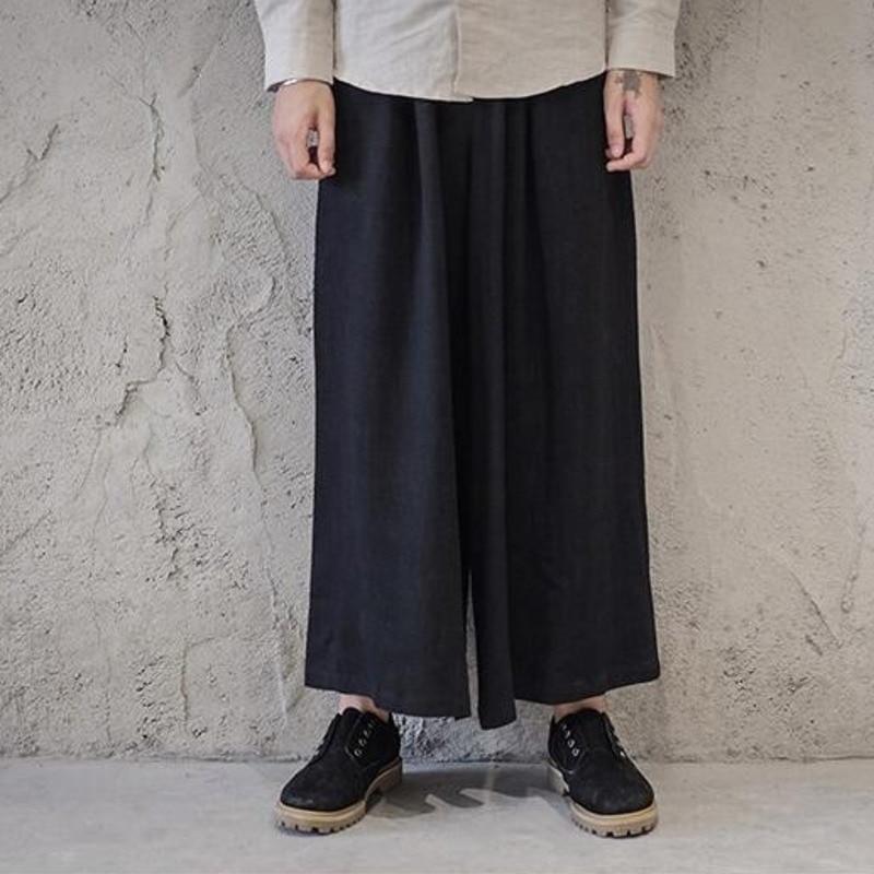 #4541 Frühling Sommer Baumwolle Leinen Kimono Breite Bein Hosen Japanischen Stil Vintage Kimono Hosen Mens Street Track Hosen Hüfte Hop
