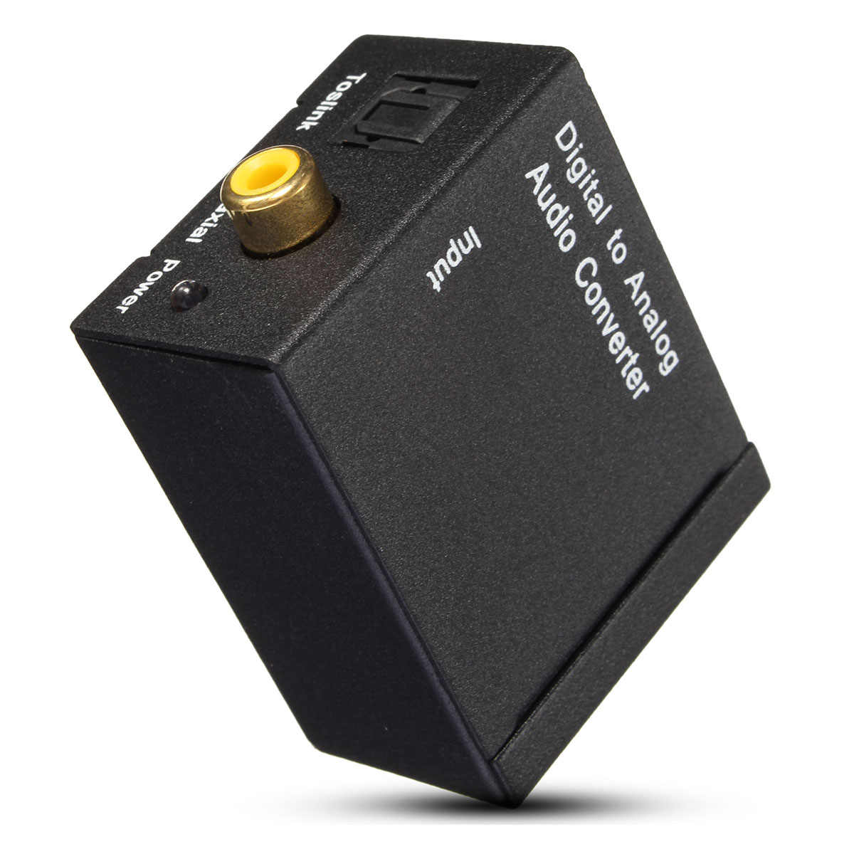 LEORY 5V Digitale ad Analogico L/R SPDIF Coassiale Coassiale RCA e Ottico Toslink Audio Converter commercio all'ingrosso di new arrivo