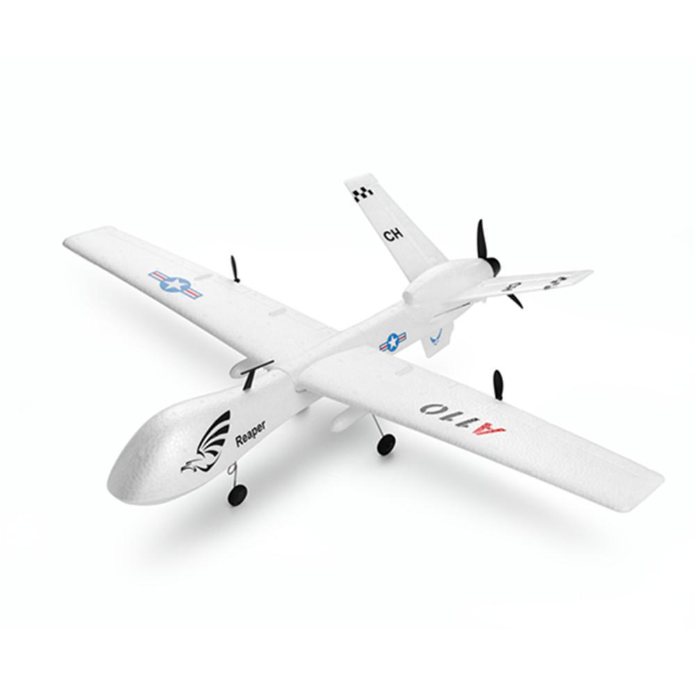 LeadingStar XK A110 Хищник MQ-9 ЕНП 565 мм размах крыльев 2,4 г 3CH DIY планер радиоуправляемый самолет RTF Встроенный гироскоп