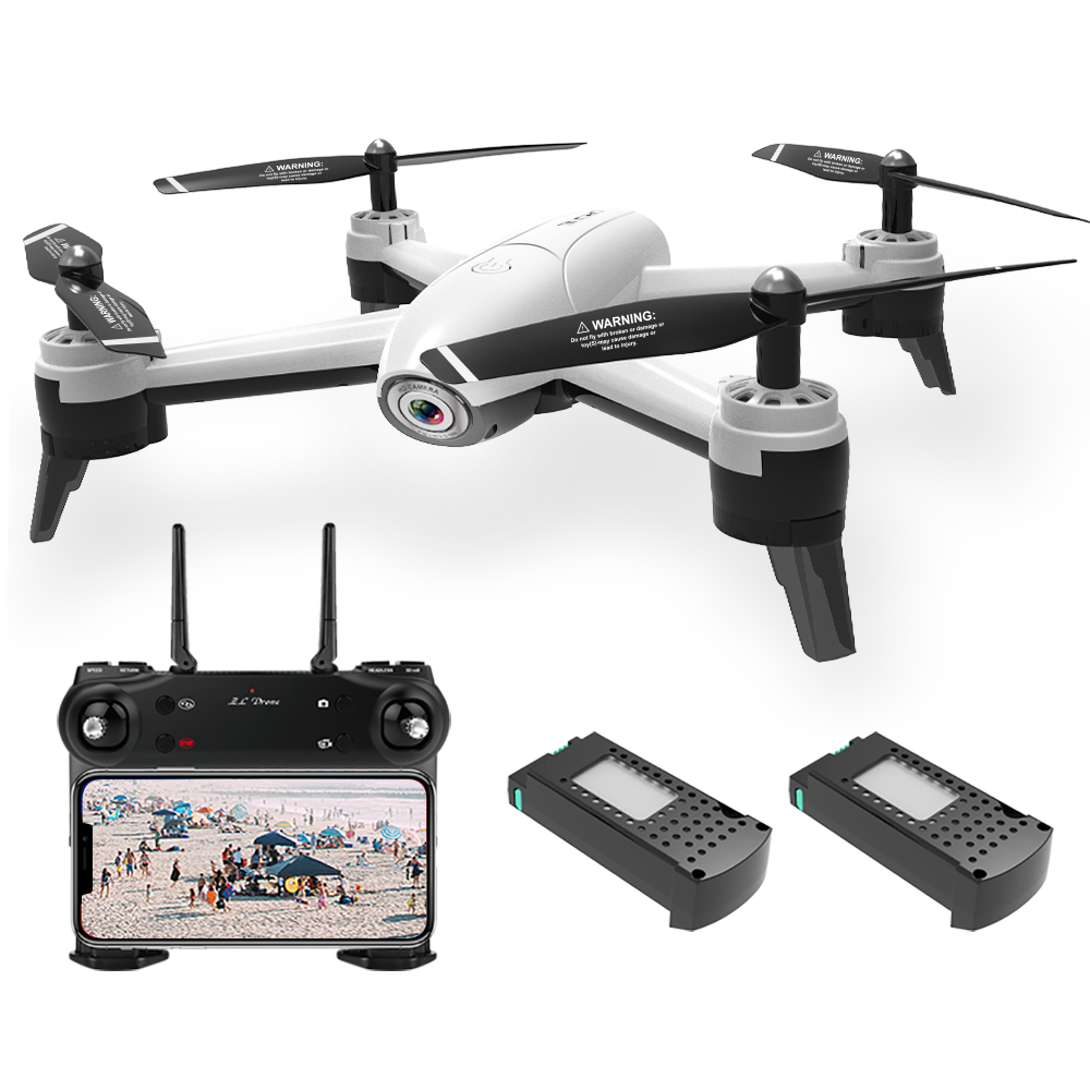 SG106 Wifi FPV Optical Flow Drone with Dual Camera 1080P Wide Angle Altitude Hold Gesture Photography