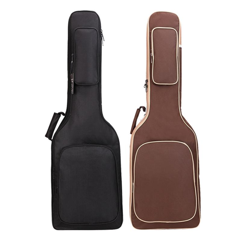 Electric Guitar Bass Bag Backpack High Quality 7mm Pearl Cotton Mezzanine Thickened Oxford Cloth Guitarra Bag Carrying CaseElectric Guitar Bass Bag Backpack High Quality 7mm Pearl Cotton Mezzanine Thickened Oxford Cloth Guitarra Bag Carrying Case