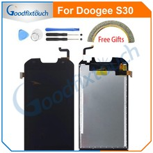 LCD Screen For Doogee S30 LCD Display+Touch Screen Digitizer Assembly For Doogee S30 Replacement Parts 5.0 inch(China)