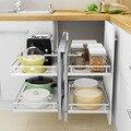 Mutfak Schrank Rangement Almacenaje Armario Platos Kuchnia Organizador Küche Cocina Rack Küche Schrank Lagerung Korb|Regale und Halter|   -