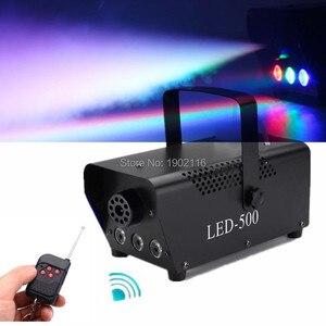 Image 5 - Wireless Remote Control 500W Smoke Machine With RGB LED Lights/400W Fog Machine/Smoke Ejector Stage Effect Disco DJ Party/Fogger