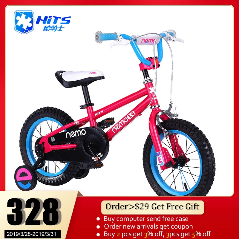 dc8f8a1a0c5 HITS Nemo Kid Bicycle Child s Bike Cycling For Safety To Children Health  Childhood Kid bicycle 12-18 Inch 4 Colors Bicicleta