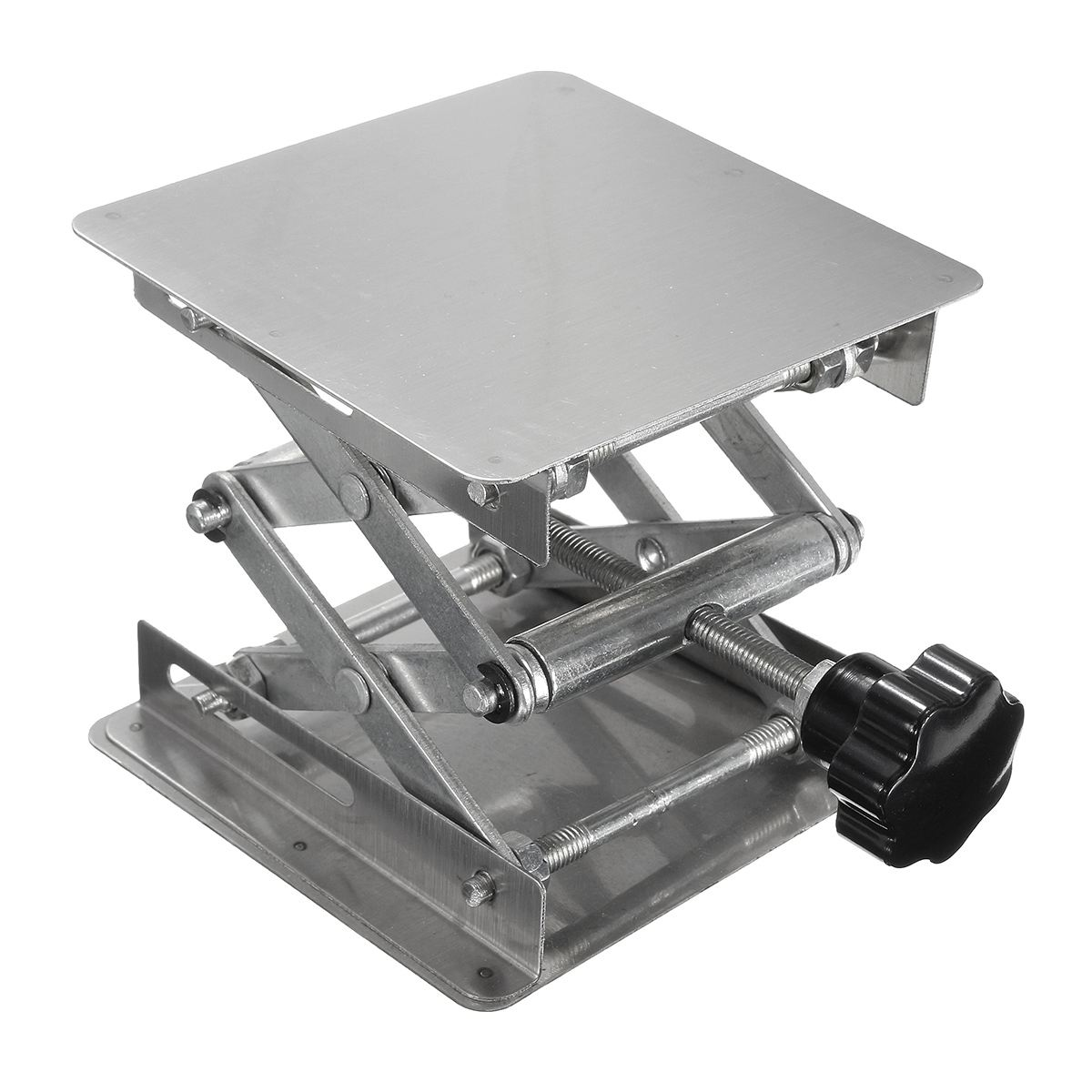 100*100mm Stainless steel Land Stand Lift Laboratory Lifting Platform Equipment 4X4 Office Lab Supplies100*100mm Stainless steel Land Stand Lift Laboratory Lifting Platform Equipment 4X4 Office Lab Supplies