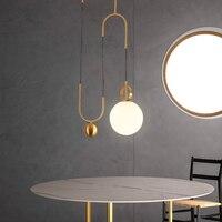 Современный светодиодный подвесной светильник металлический светодиодный подвесной светильник столовая Бар спальня гостиная подъемный с