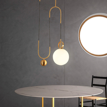 diy simple color plastic droplight modern led pendant light fixtures for dining room bar hanging lamp indoor lighting Modern LED Pendant Lamp Metal LED Pendant Light Lighting Dining Room Bar Bedroom Lounge Lifting Glass Ball Hanging Lamp Fixtures