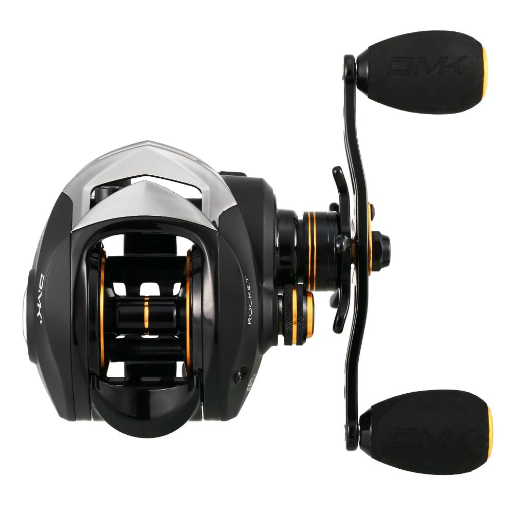 9+1 BB 6.3:1 High Speed Baitcasting Reel Spinning Boat Fishing Wheel 8KG Max Drag Carp Fishing Reel Tackle With Storage Sack