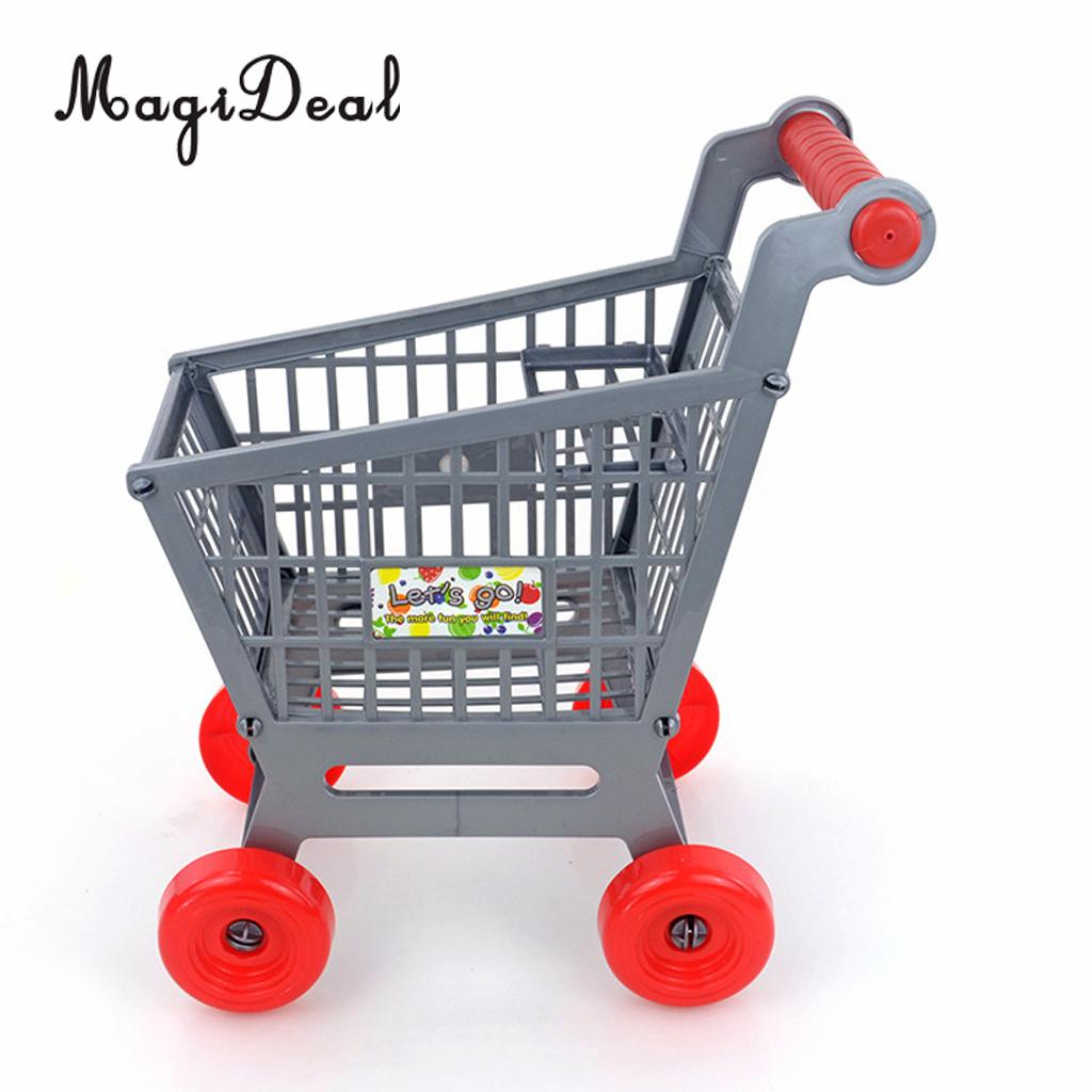 "MagiDeal Supermarket Shopping Cart Set For 12/"" 1//6 Action Figures Dolls"