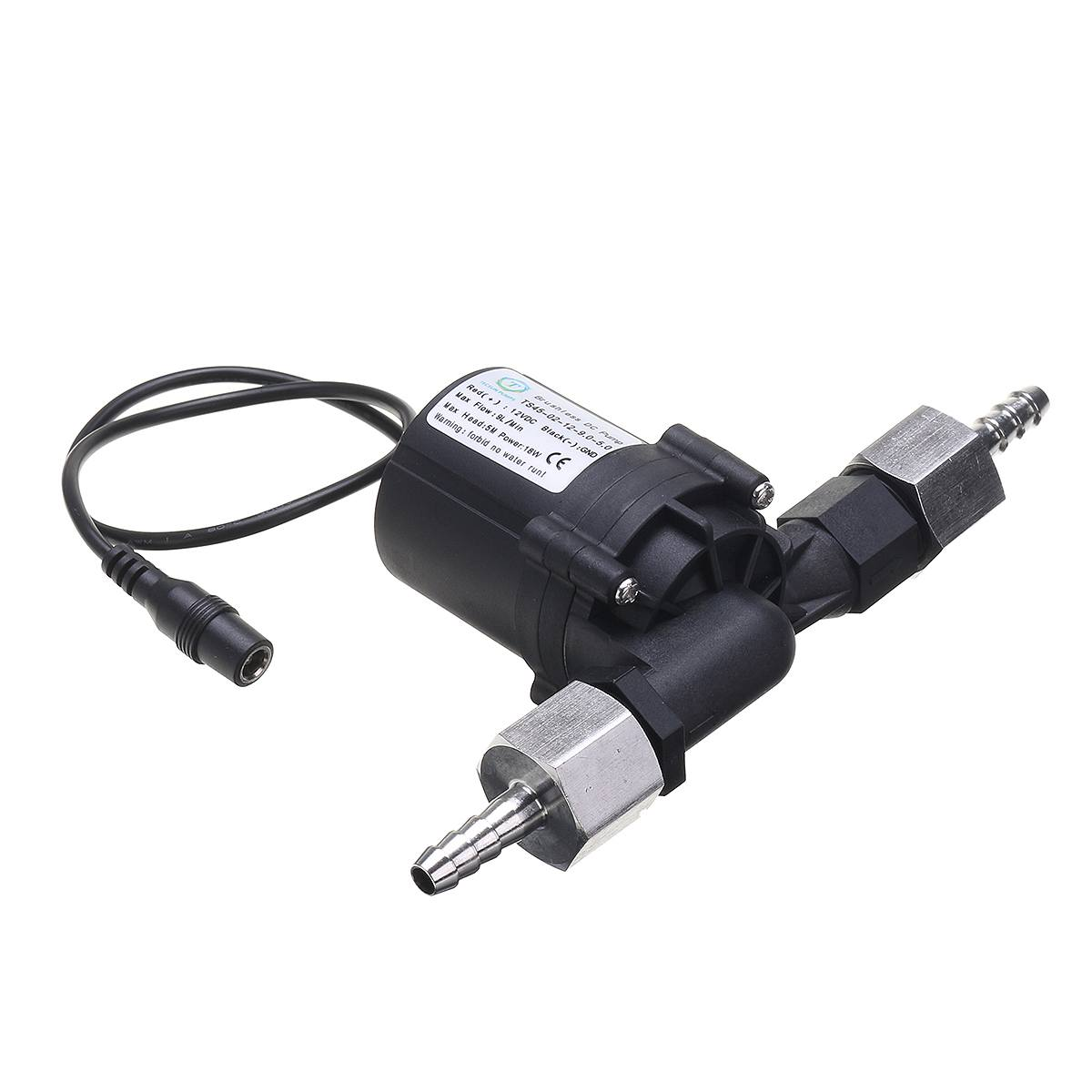 DC 12V Solar Hot Water Pump Circulation System Brushless Motor Accessories G1/2 Homemade Beer Pumps Aquarium Water Cooling Parts