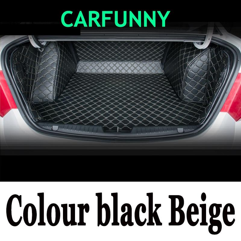 CARFUNNY custom fit car trunk mats for  BYD F0 F3 F6 7 G3 G6 F7 L3 S6 S7 CARFUNNY custom fit car trunk mats for  BYD F0 F3 F6 7 G3 G6 F7 L3 S6 S7