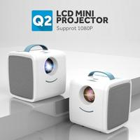 Mini Portable Projector Baby Tell A Story Toy Projector 1080P Full HD 30 Lumens Education TV Luminous Toys Home Theater Beamer