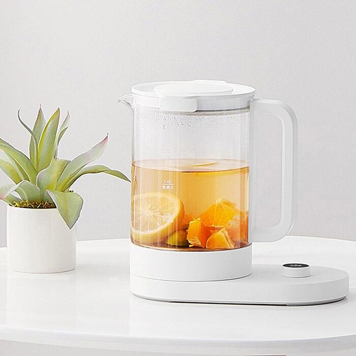 Oryginalny Mijia MJYSH01YM wielofunkcyjne trwałe czajnik elektryczny ekran OLED aplikacji pilot zdalnego sterowania agd czajnik do herbaty w Bidony od Dom i ogród na  Grupa 1