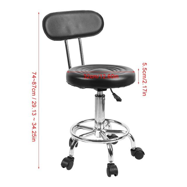 Barber Chair Adjustable Salon Hairdressing Styling Chair Barber Massage Studio Tool стул 1