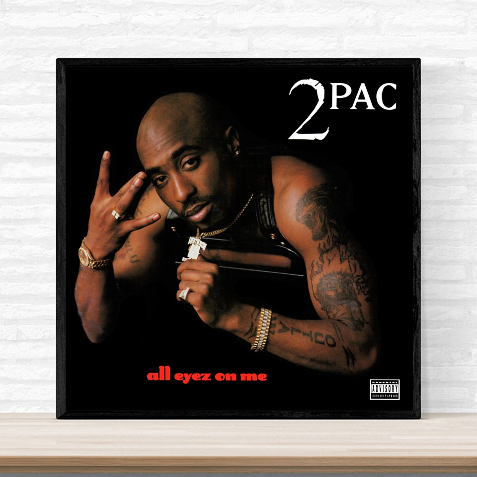 2pac Me Against The World Art Silk Poster Printing 13x20