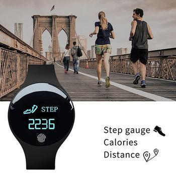036fc54af6b8 Nueva pulsera M3 pulsera impermeable pantalla táctil podómetro Bluetooth  Control Fitness contador de calorías para Xiaomi Nota 4X2018. US  11.28