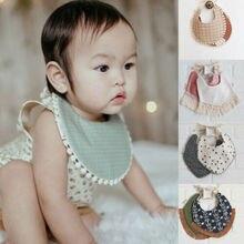 Pudcoco новые брендовые красивые детские нагрудники из хлопка Кормление новорожденных бандана для кормления одежды