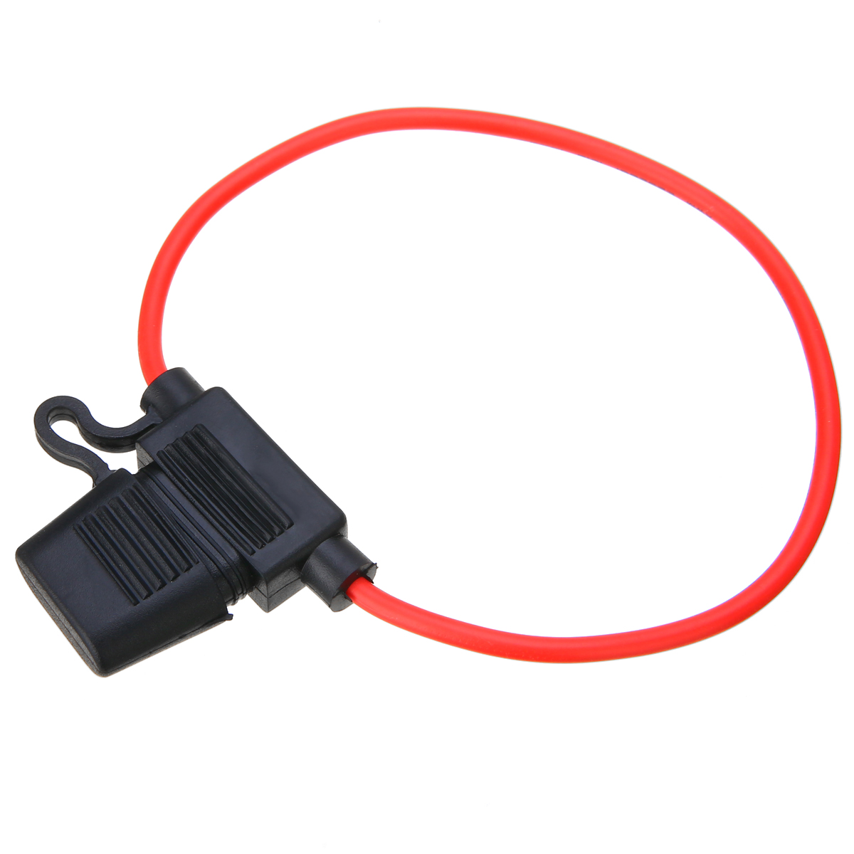 10 PCS 5x20mm Fuse Holder Case In-Line Screw Type With Wire Cable In ZX