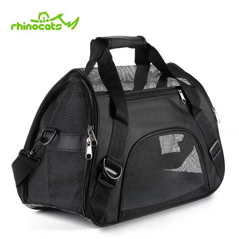 Pet transportadora para cães gato saco de transporte viagem respirável saco transporte estilingue mochila pomeranian chihuahua pequenos animais bolsas