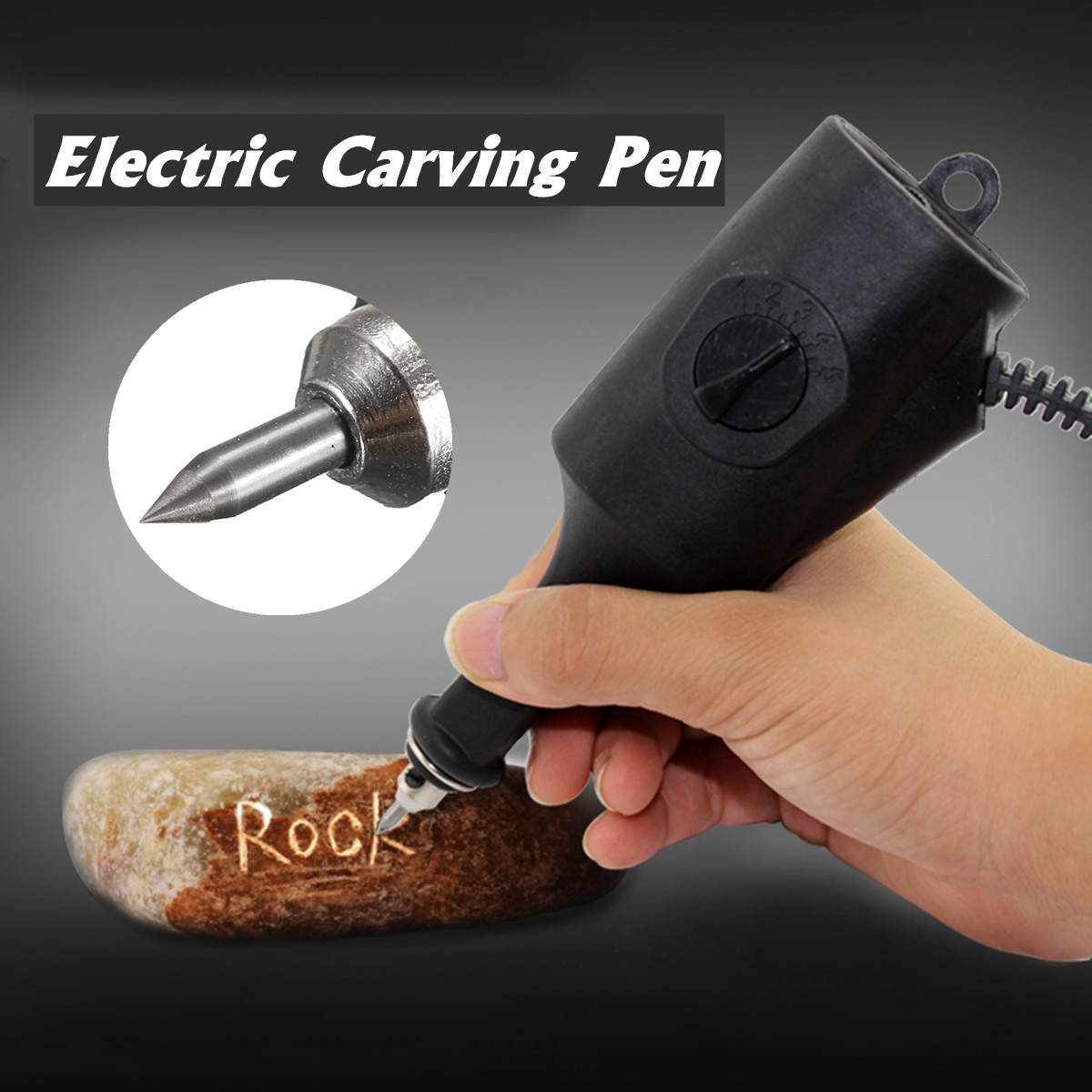 Electric Engraver Engraving Pen 5 Speeds Metal Jewelry Glass Marker Marking Tools Plotter Instrument Jade Carving Machine Tools