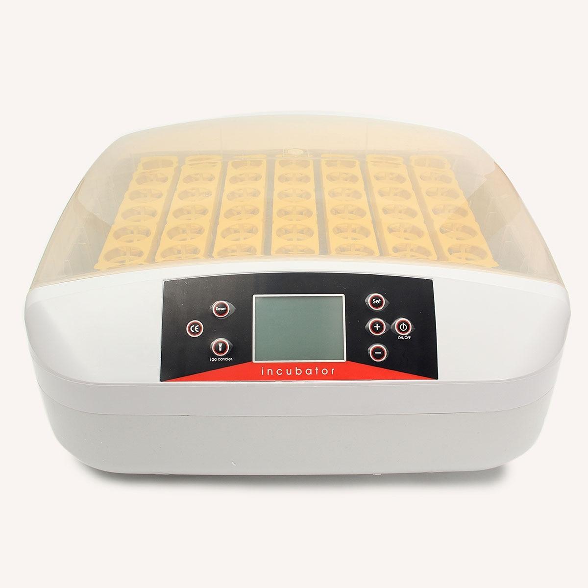 Digital 56 Ovos de Galinha Incubadora Nascedouro Incubadora de Viragem Automática Máquina de Fazenda em Laboratório de Controle de Temperatura Chocadeira