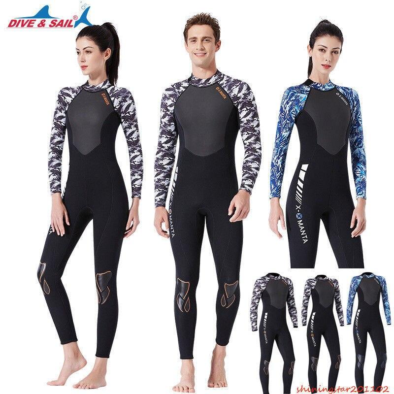 Black Snorkeling 5MM Neoprene UV Sun Protection Mens Basic Skins Warm Diving Suit Zipper Top