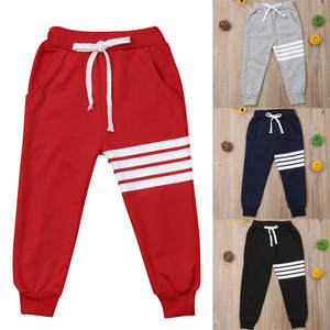 AQEACARMON Baby Boy 2-Piece Pants Drawstring Elasticated Sweatpants Dinosaur Cotton Jogging with Pockets