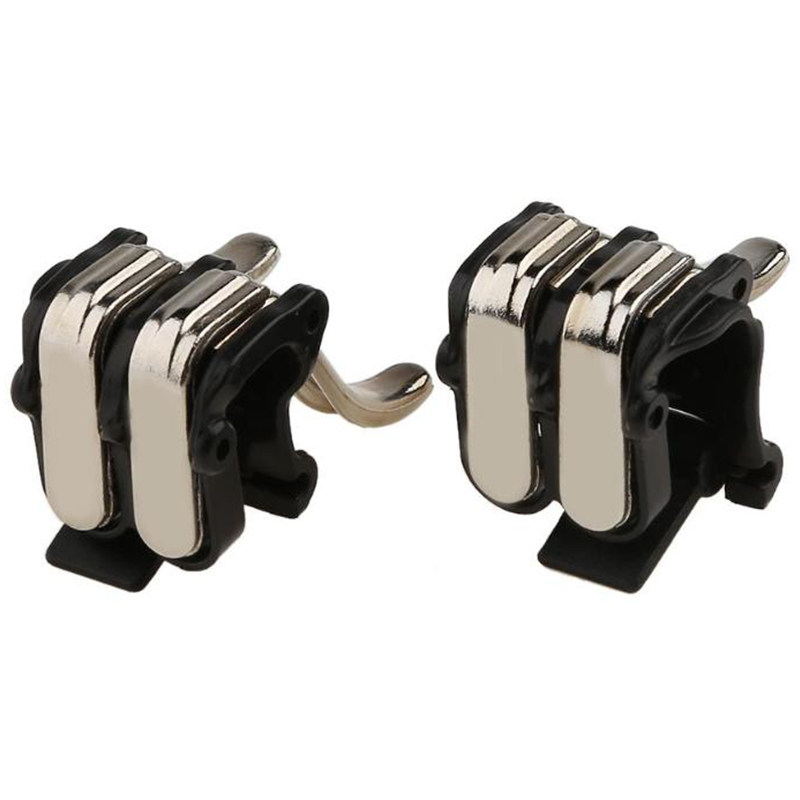 1Pair W6 New Concept Six-Finger Linkage Pubg Phone Gaming Trigger L1 R1 Shooter