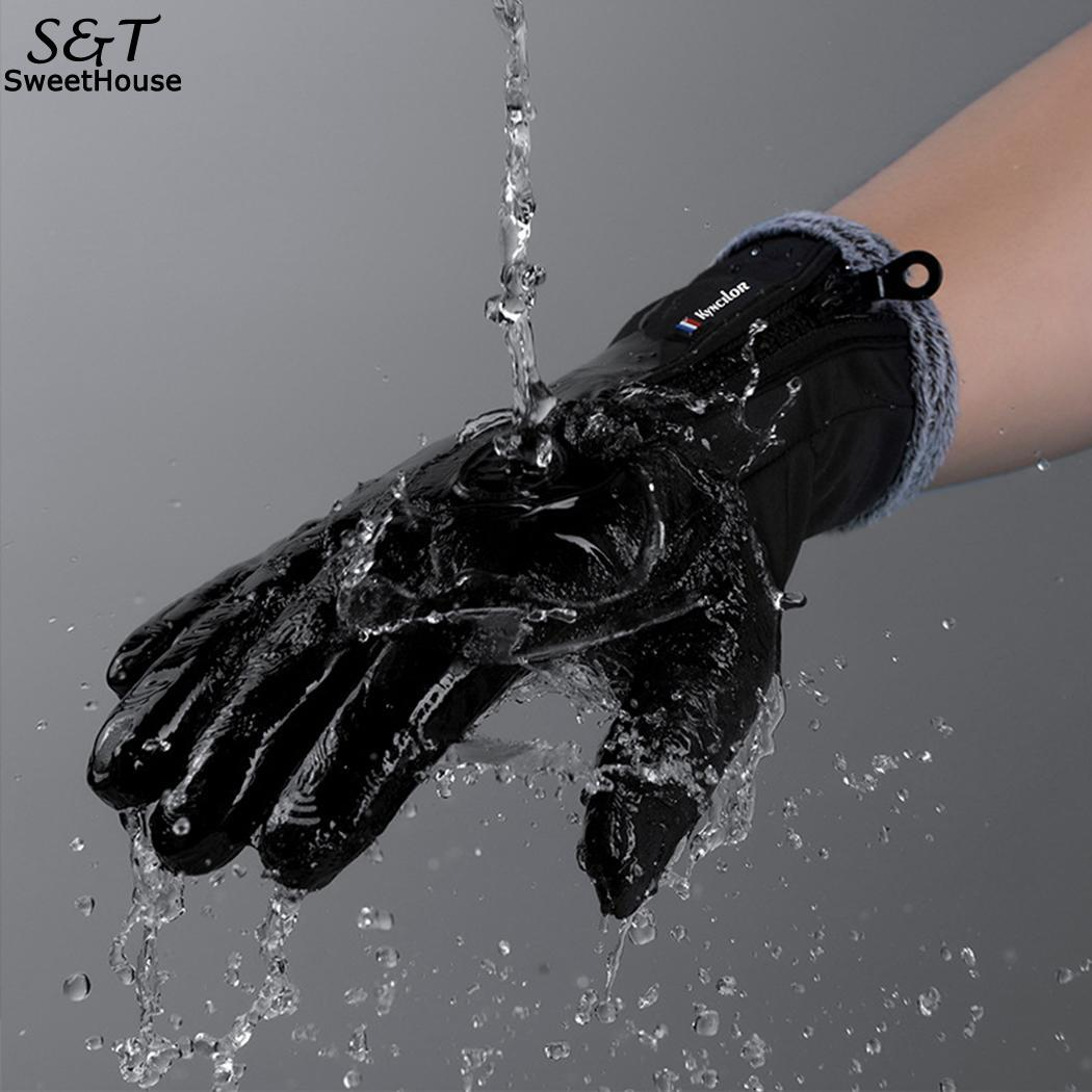 FANALA Gloves Military Winter Gloves Handschoenen Waterproof Leather Gloves Rekawiczki 2018 Guantes Training Sport Gloves Men