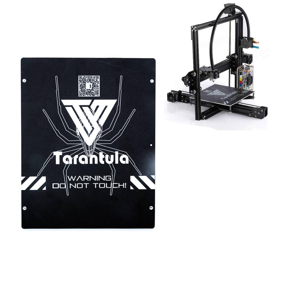 TEVO 200X280X3.5mm Grande Taille En Aluminium Noir Mamba Chauffée Lit pour Tarantula 3D Imprimante