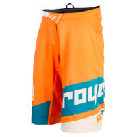 2018 Royal Racing Victory race shorts orange/diesel Downhill Mountain Bike MTB DH Motocross shorts Off Road Short