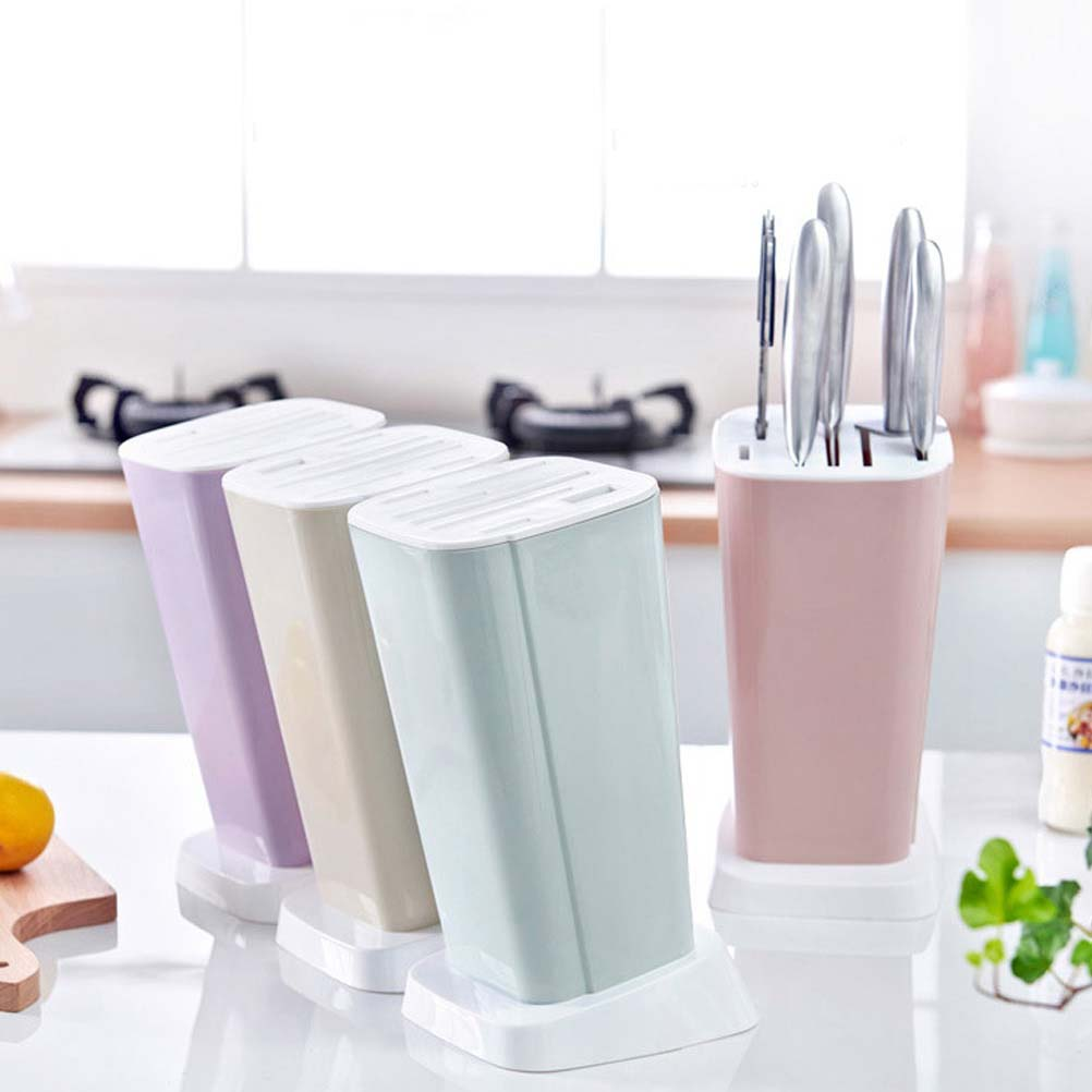 1 PC Multi-Function Knife Racks Holder Kitchen Knife Storage Rack Inserted Creative Kitchen Holder