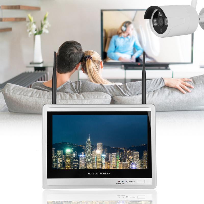 4-façons WIFI HD vision nocturne Caméra avec Écran Vidéo Smart Sensor Pour Home Security AHD caméra de surveillance