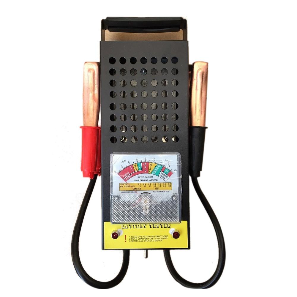 Детектор емкости аккумулятора автомобиля и мотоцикла тестер заряда батареи вилка высокой мощности Измеритель расхода батареи