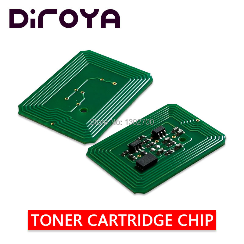 8 Pcs 43837136 43837135 43837134 43837133 Toner Patrone Chip Für Oki C9655 C 9655 C9655n C9655dn C9655hdn Power Reset Ru /mea/in Verbraucher Zuerst
